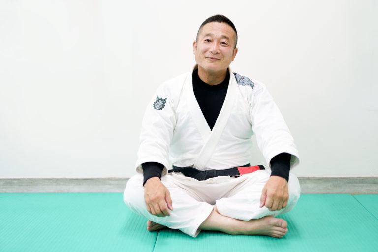 高知ブラジリアン柔術アカデミー一領具足黒帯柔術家上園正行