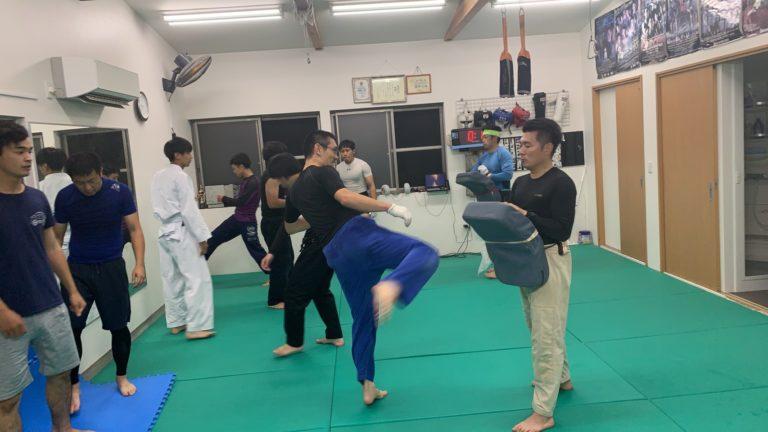 MMA打撃練習